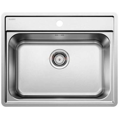 Кухонная мойка с нержавеющей стали Blanco LEMIS 6-IF полированная (525108)