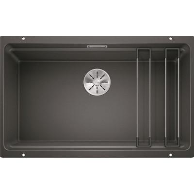 Каменная кухонная мойка Blanco ETAGON 700-U Антрацит под столешницу (525167)